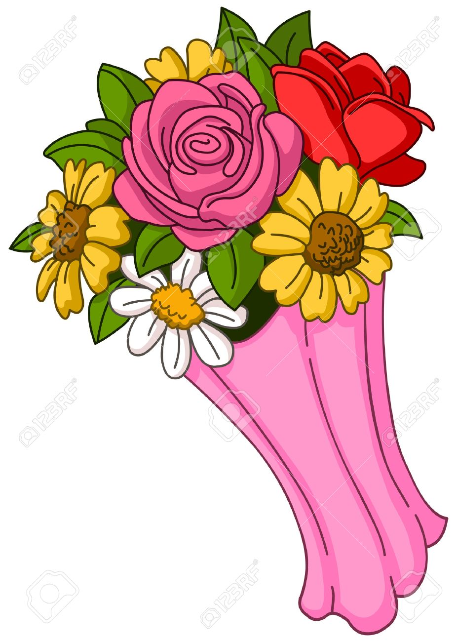 Vector flower bouquet - 50925871