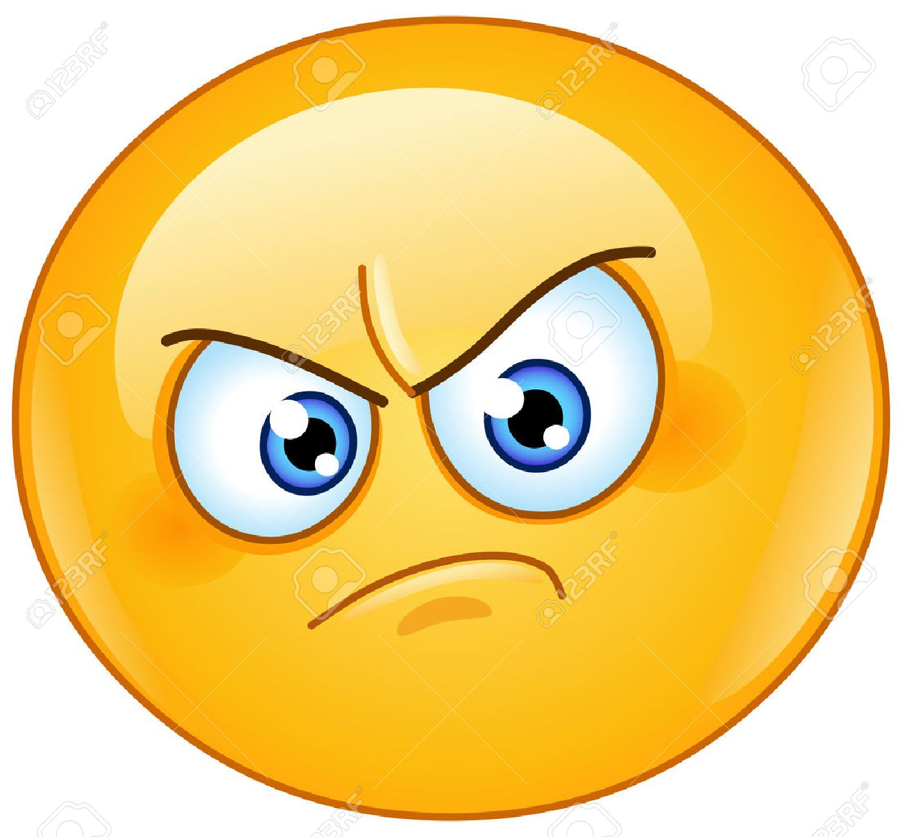 Image result for angry emoticon