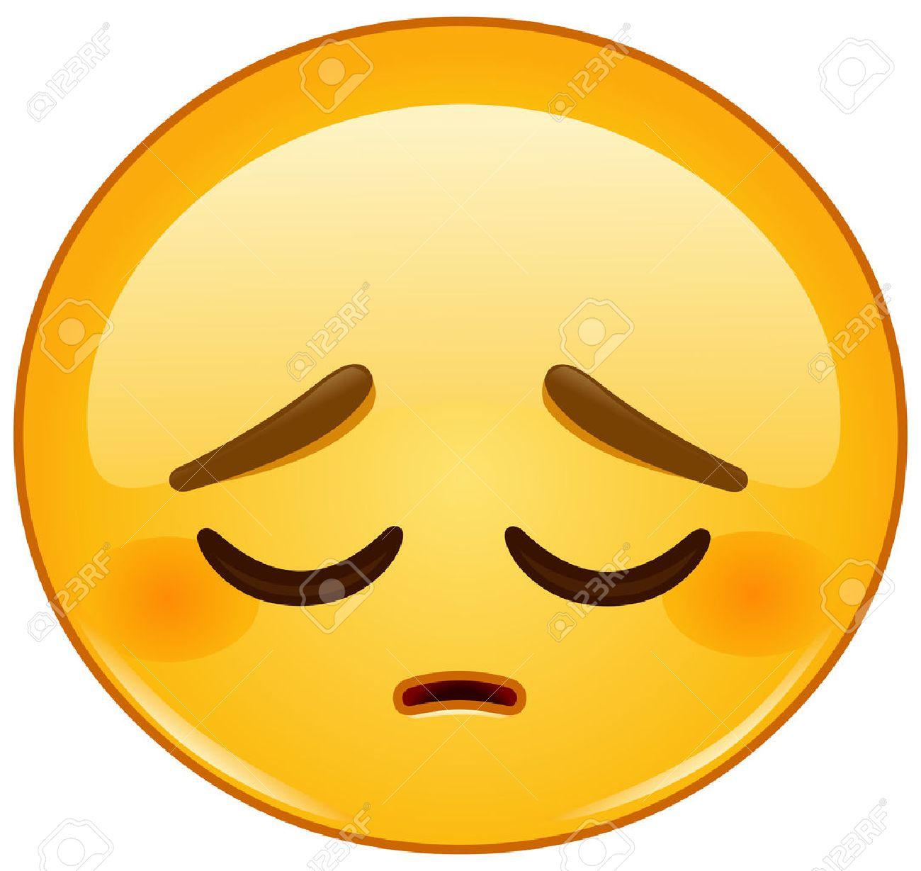 Pensive emoticon - 53170705
