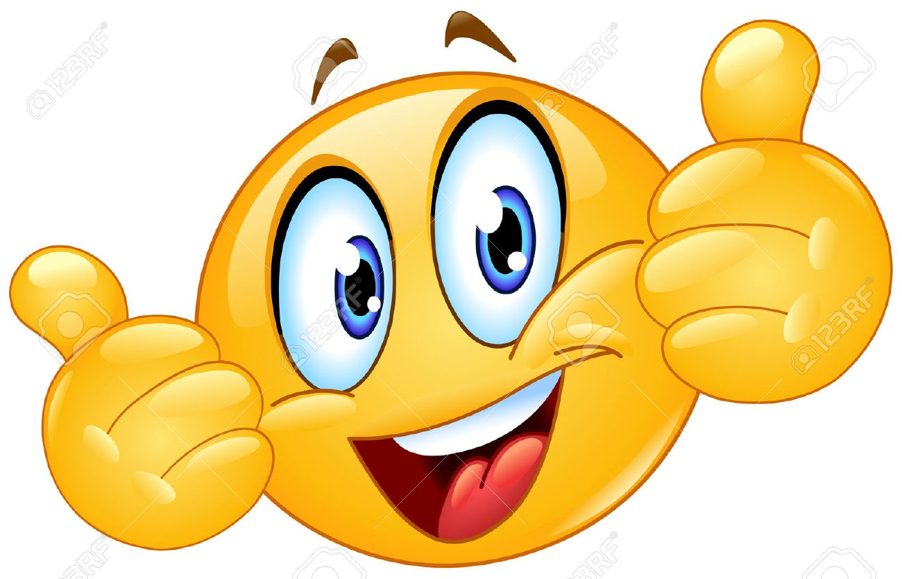 Emoticon showing thumbs up - 59225844
