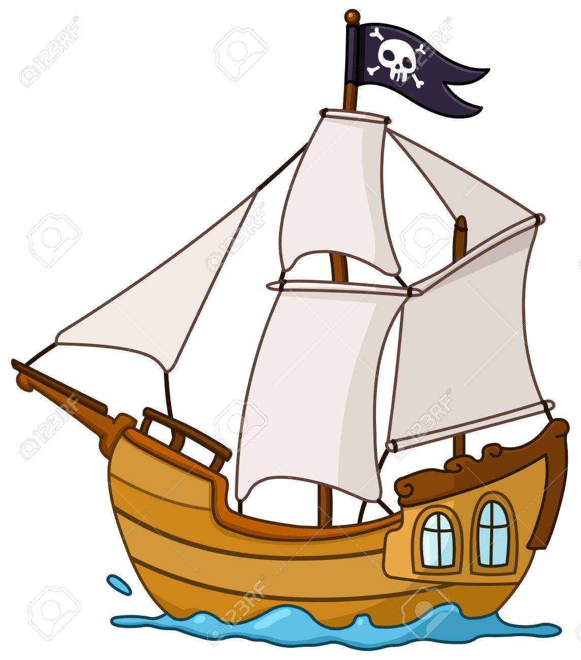 pirate ship royalty free cliparts vectors and stock illustration rh 123rf com