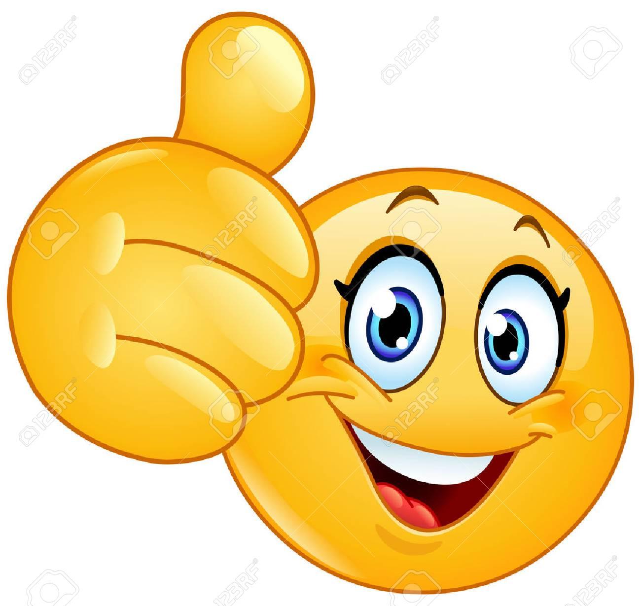 emoji holding thumbs up
