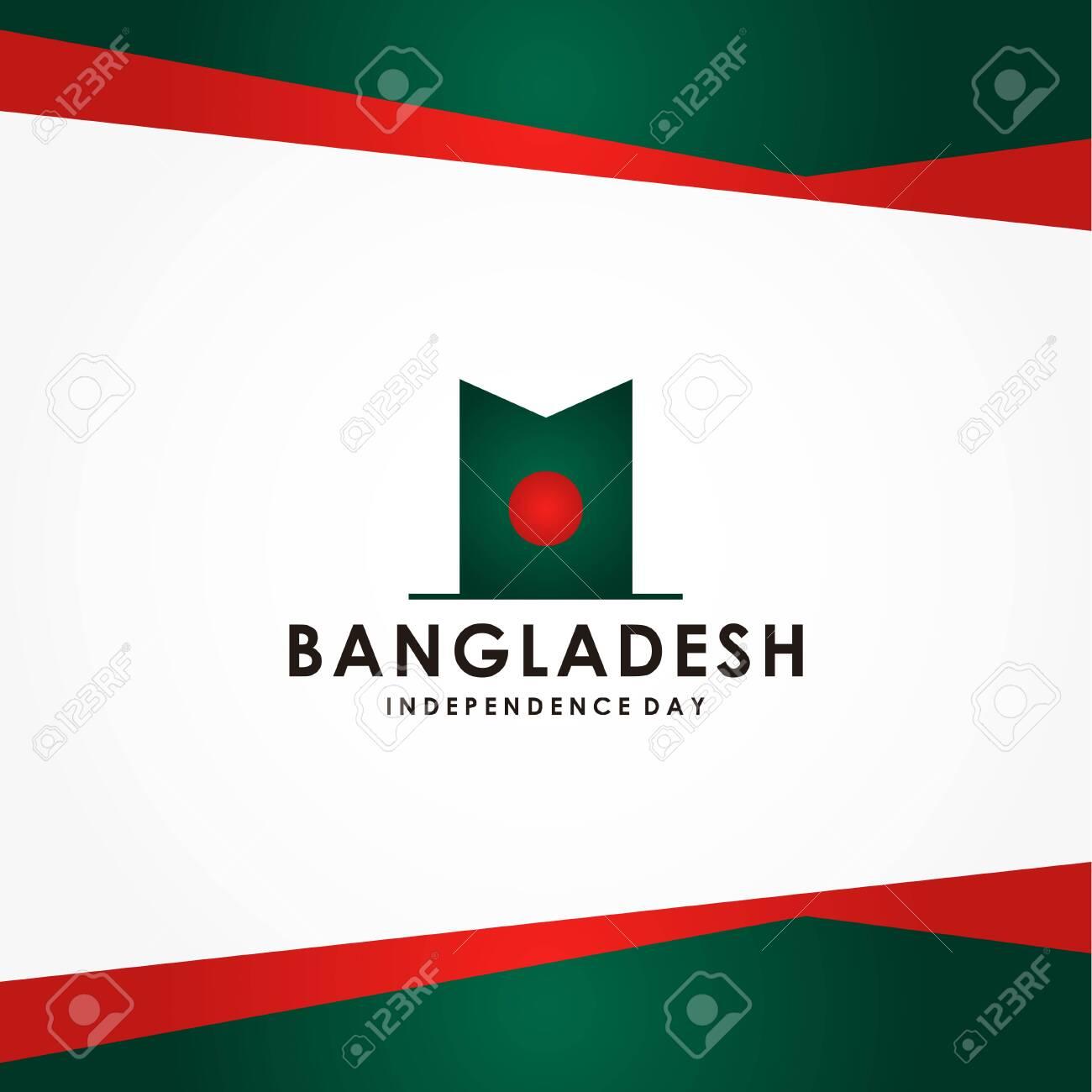 Bangladesh Independence Day Vector Design For Banner or Background - 139900167