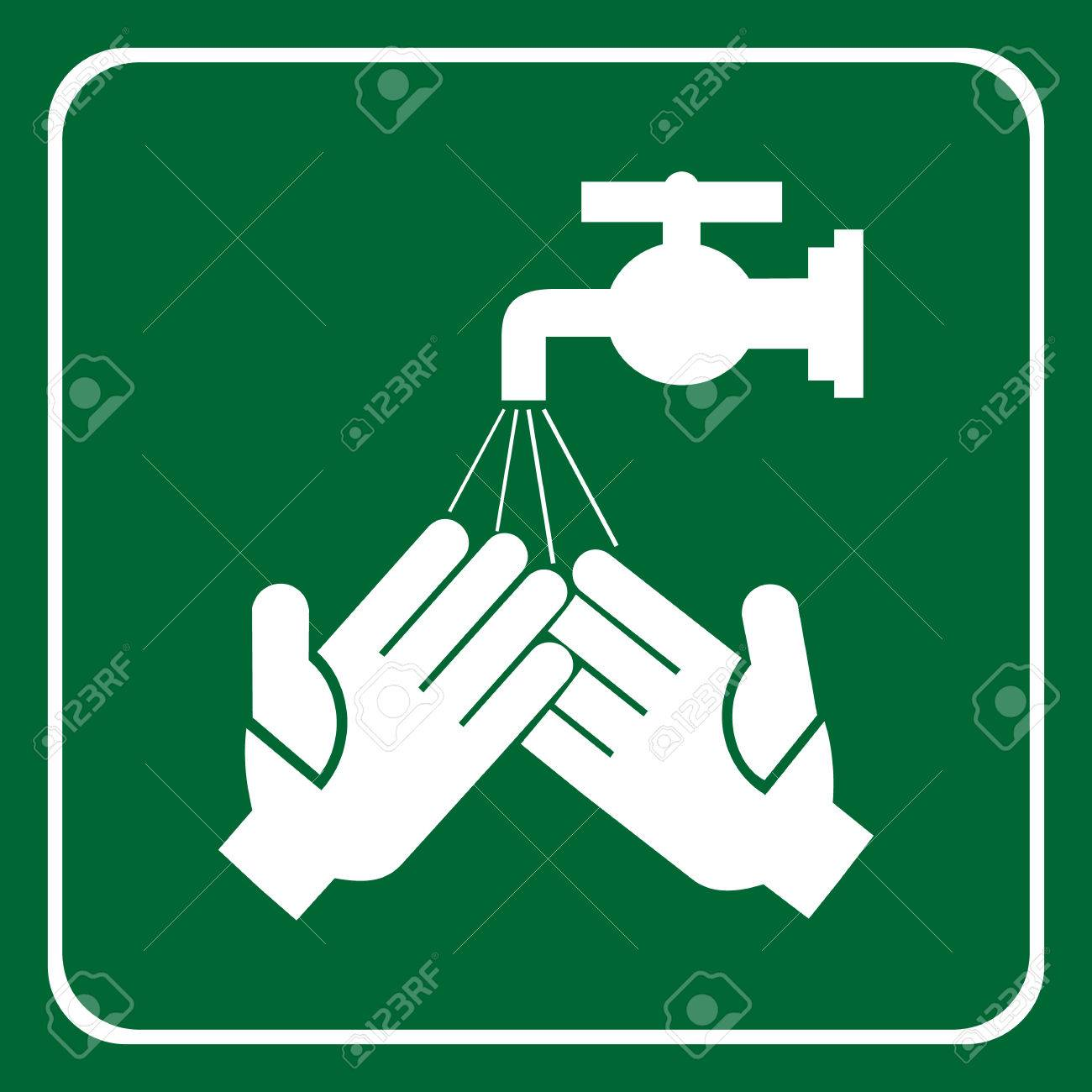 Please Wash Your Hands Sign Vector Royalty Free Cliparts Vectors