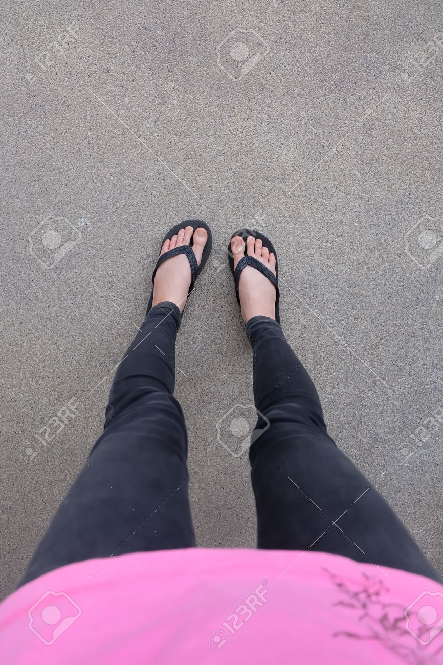Black sandals grunge
