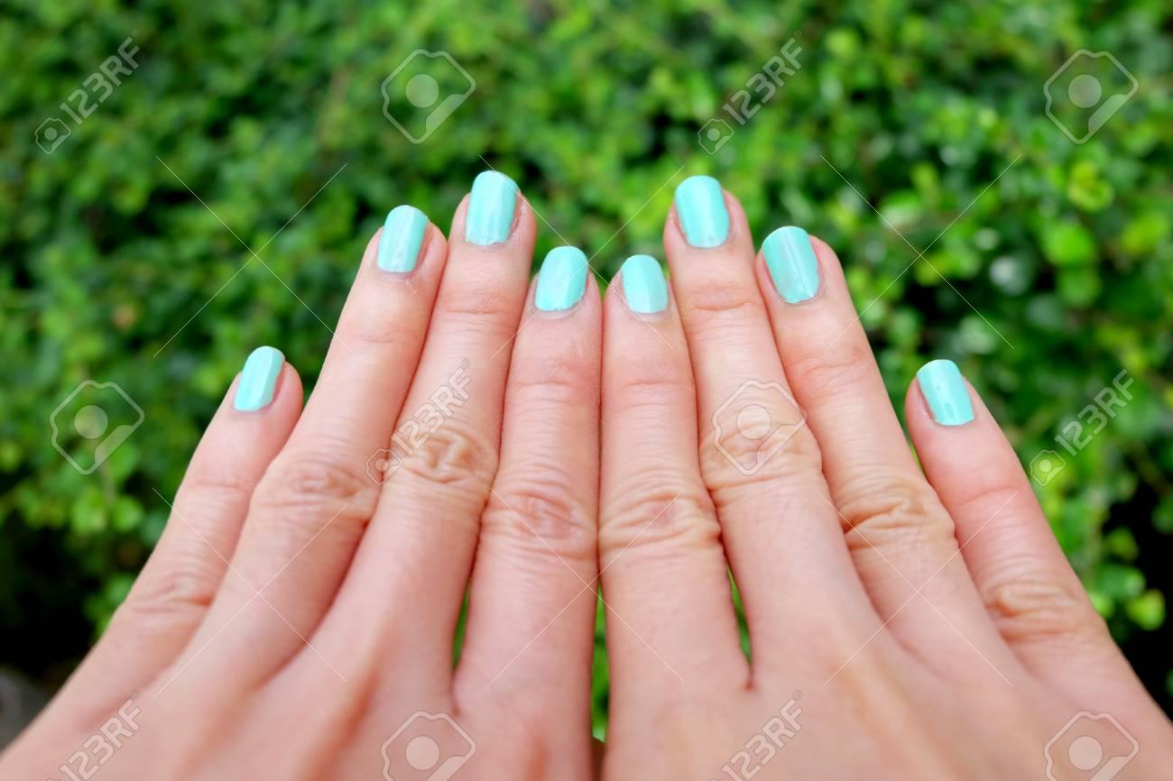 Excelente Manicure Francés Uñas Muy Cortas Ornamento - Ideas de ...