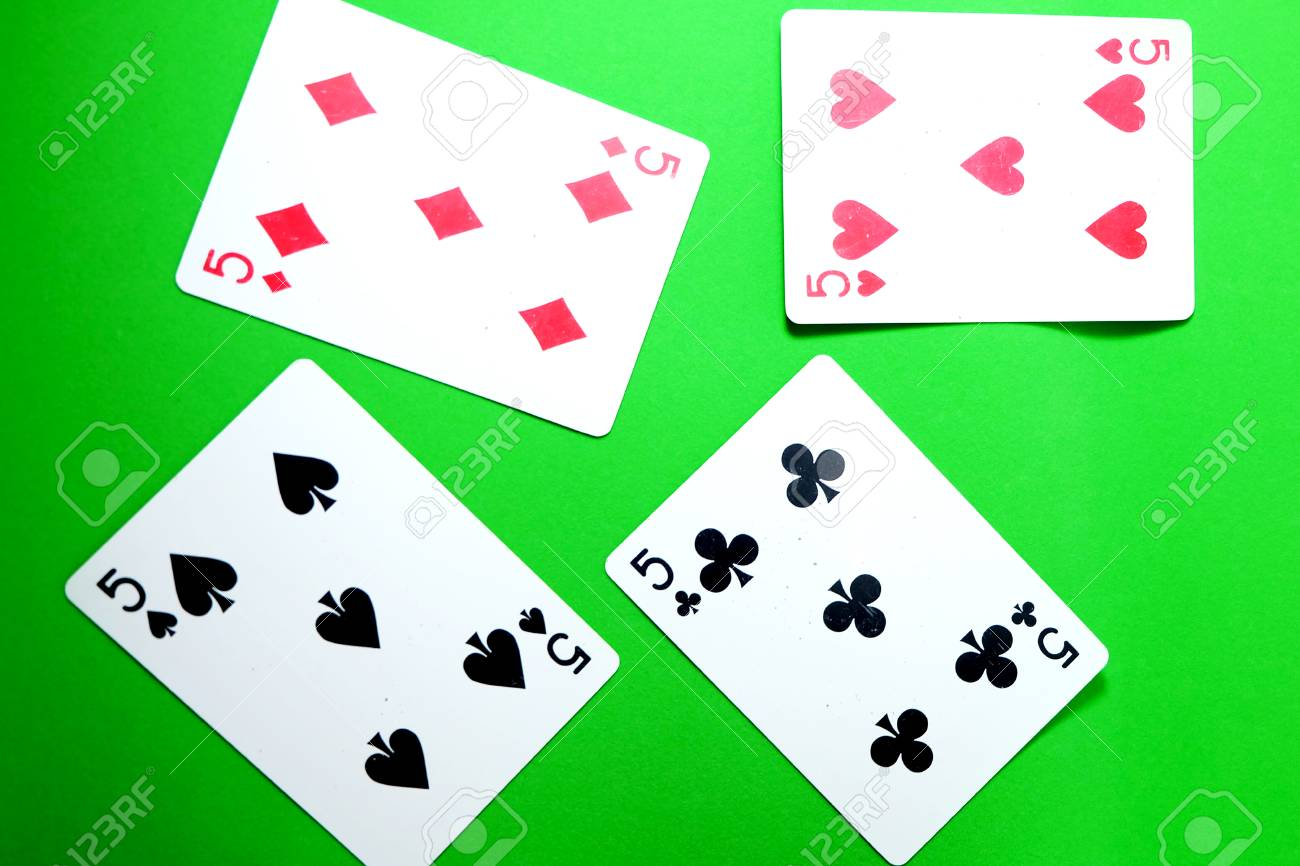 a spade card game  7 Playing Card Game. Old Five of Heart, Spades and Diamonds Playing..