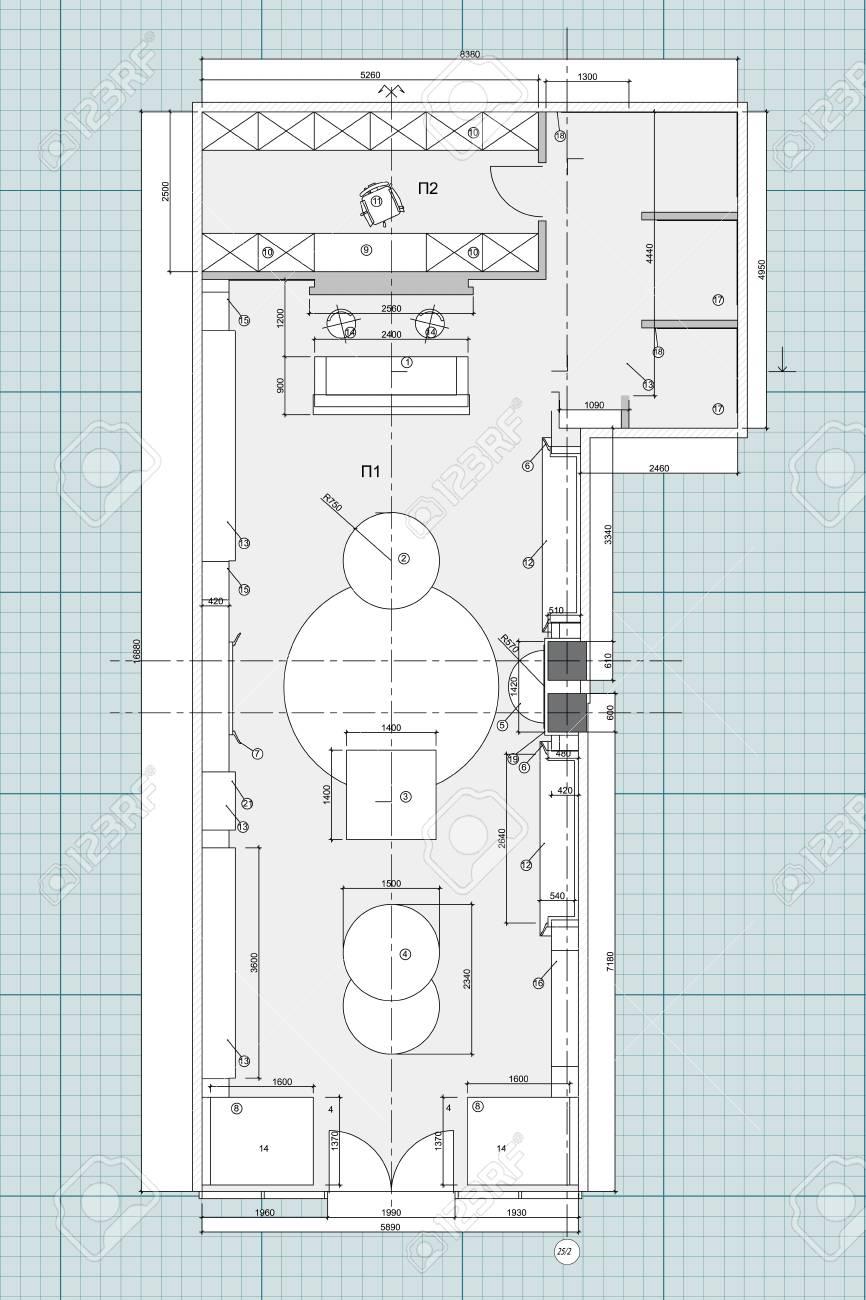 floor plan furniture symbols. Standard Office Furniture Symbols On Floor Plans Stock Vector - 72888159 Plan O