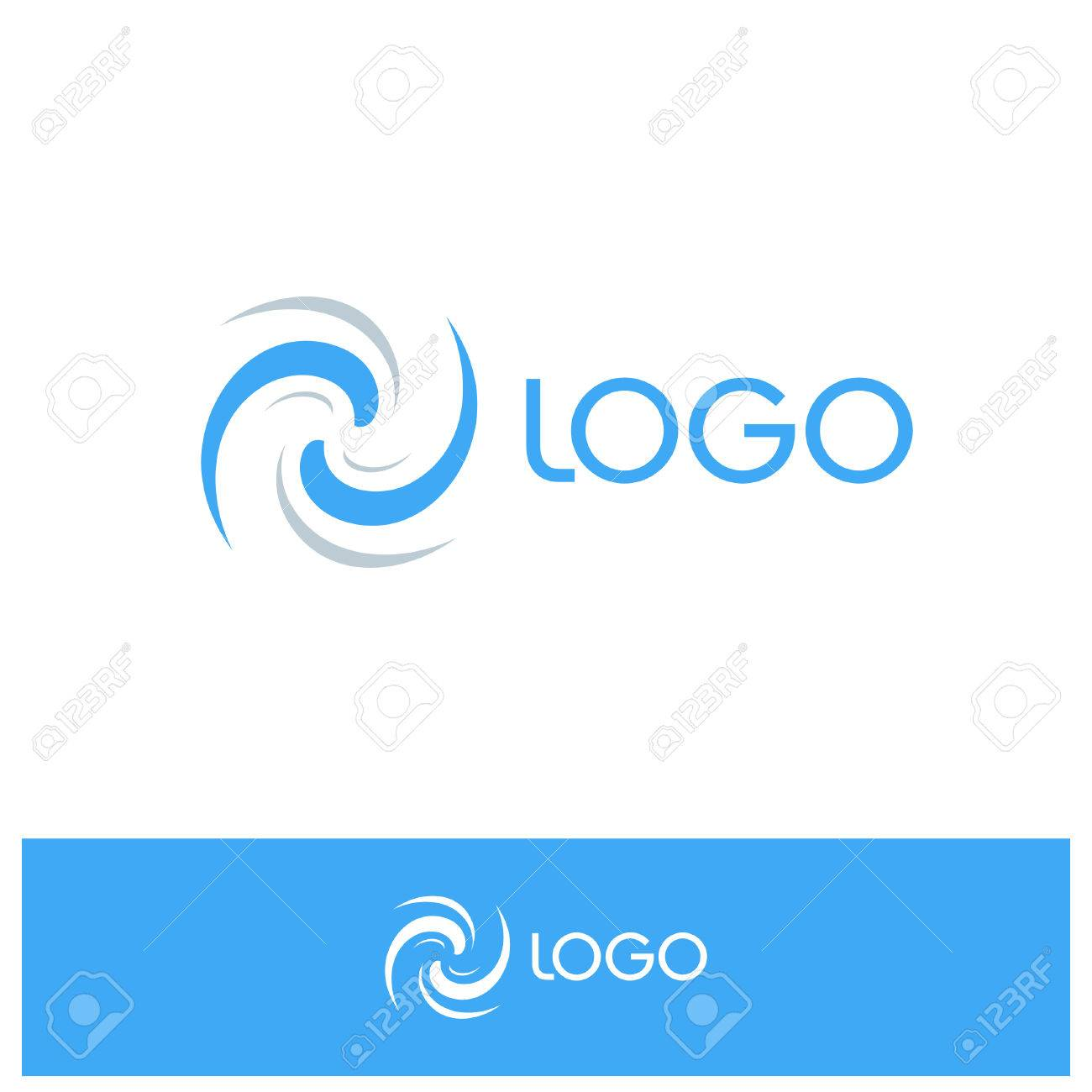 Isolated abstract blue spinning conditioning sign ventilator isolated abstract blue spinning conditioning sign ventilator symbol windy weather icon wavy biocorpaavc Image collections
