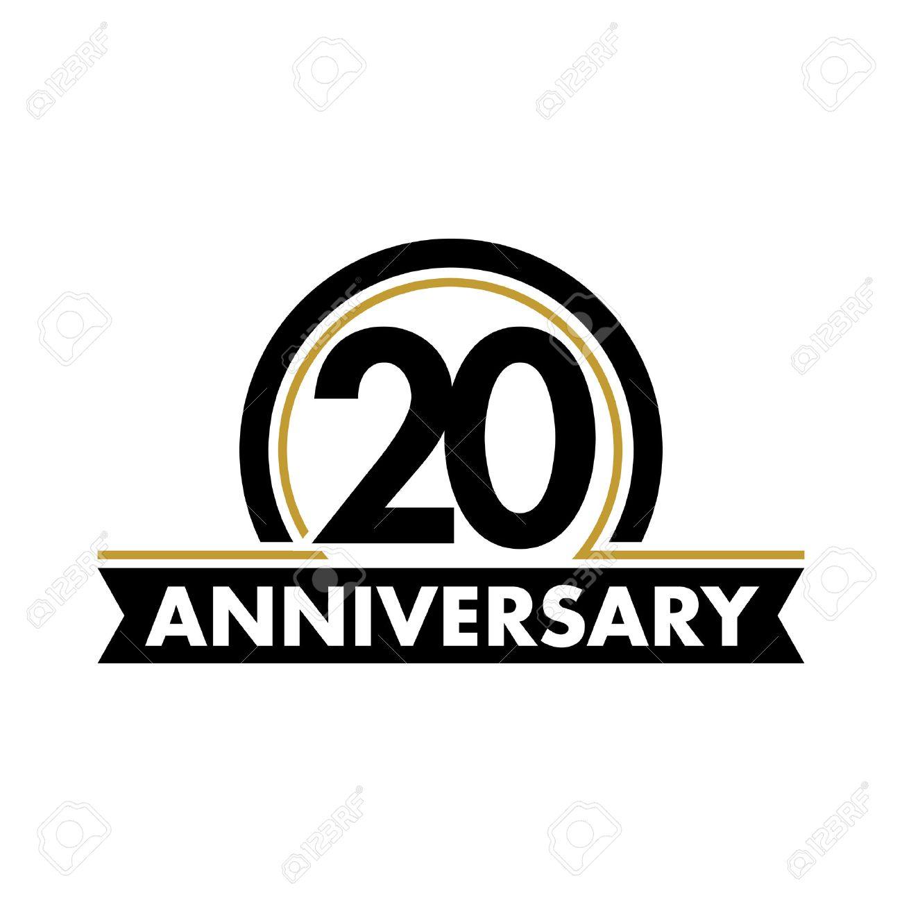 Anniversary vector unusual label twentieth anniversary symbol anniversary vector unusual label twentieth anniversary symbol 20 years birthday abstract logo the buycottarizona