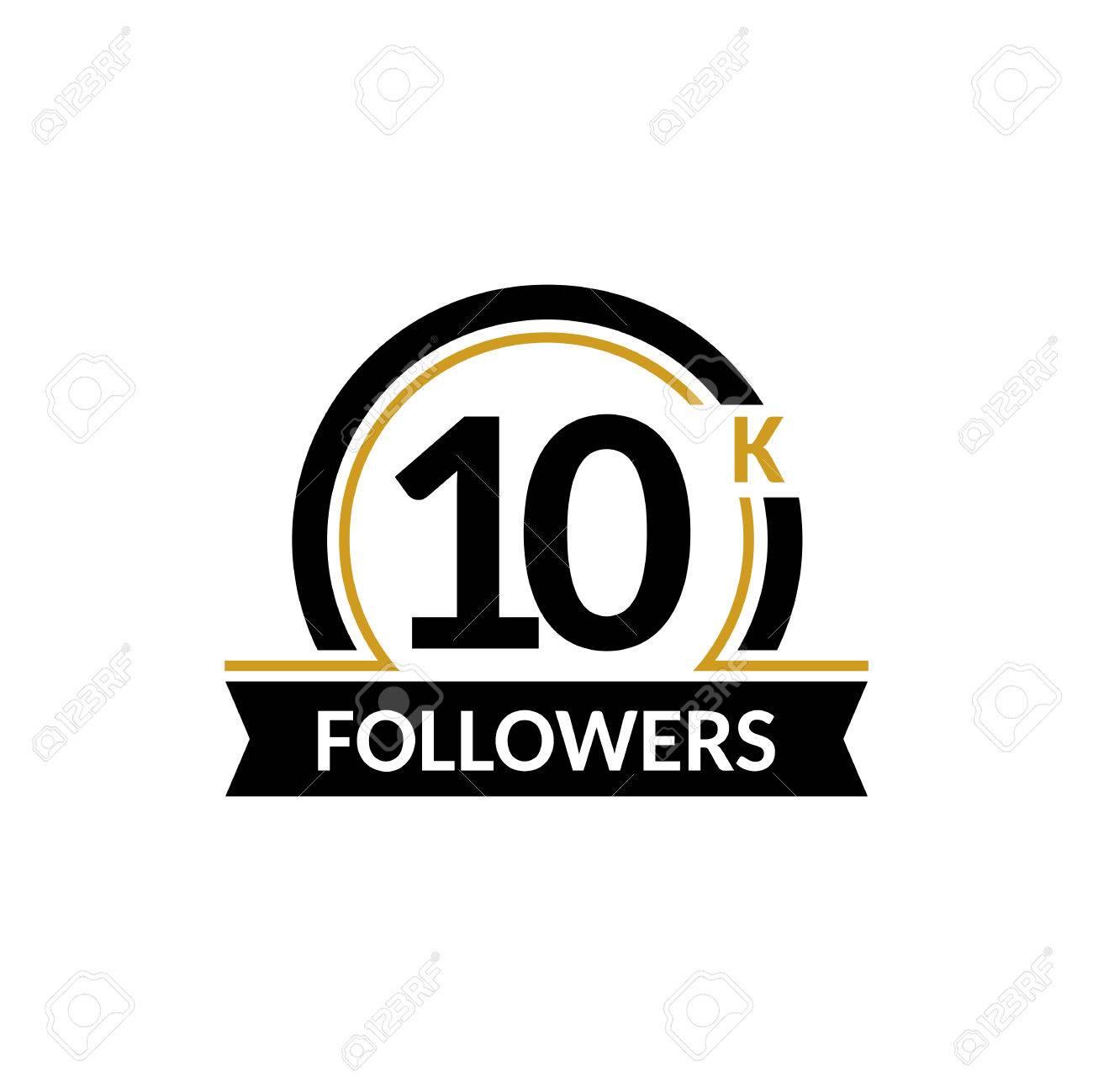 10000 followers and friends 10k anniversary congratulations