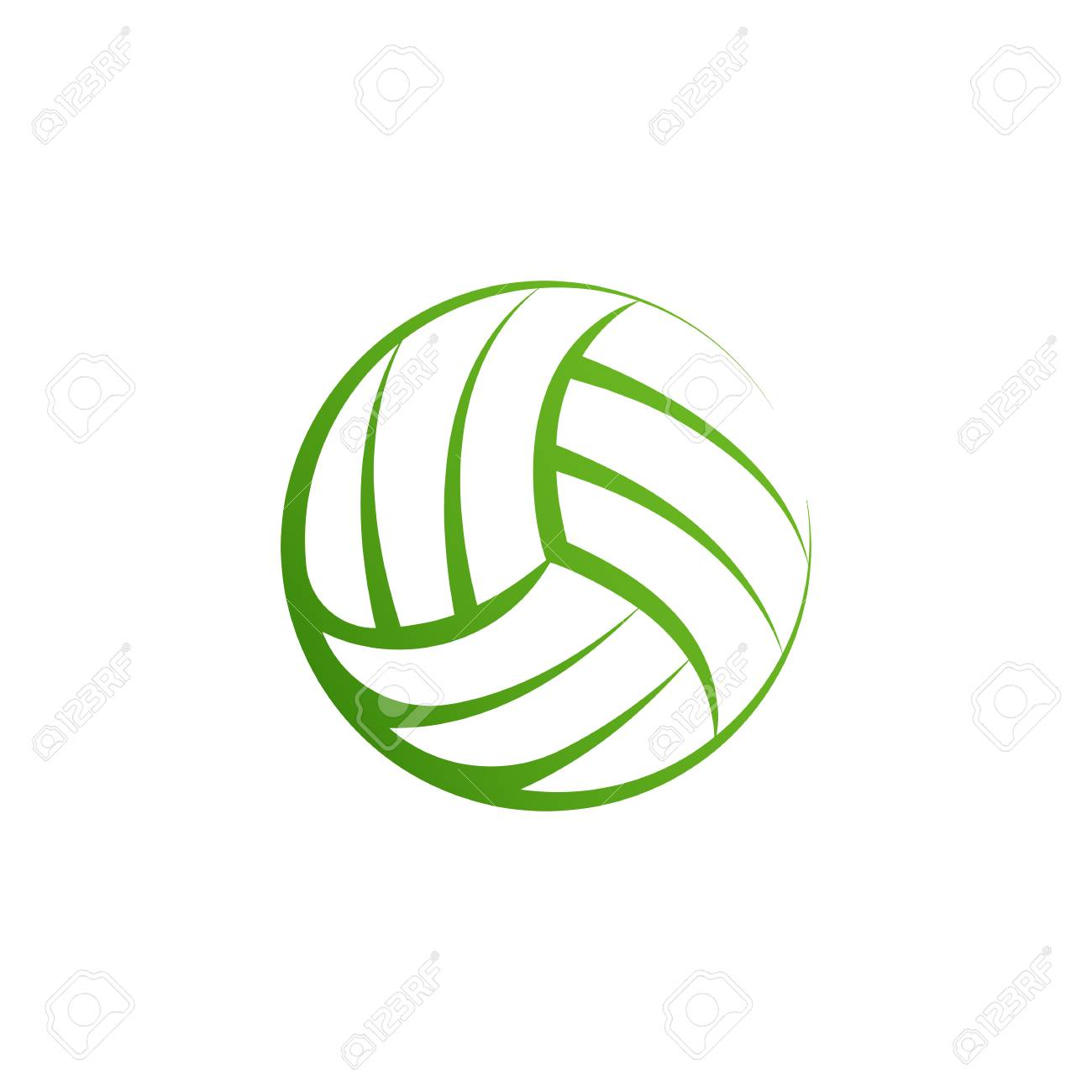 Volleyball Logo Element Vector Volley Ball Icon Isolated Sport Royalty Free Cliparts Vectors And Stock Illustration Image 103124657
