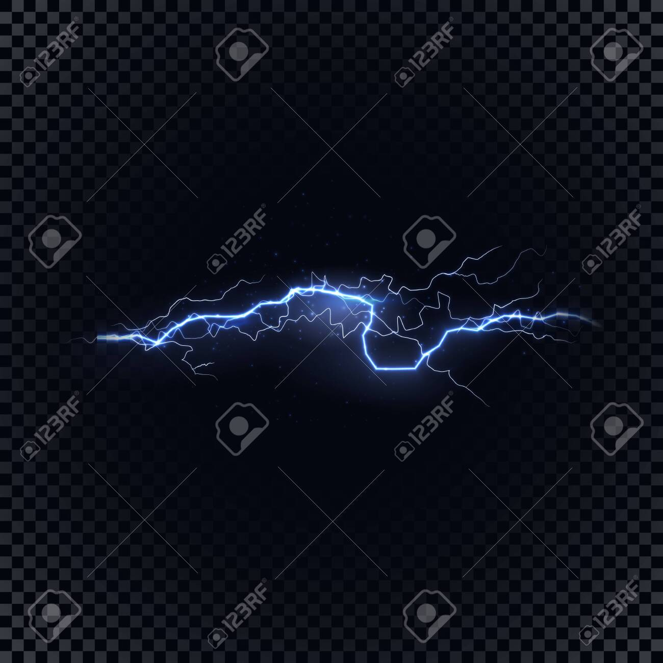 blue vector lightning on black background vector illustration royalty free cliparts vectors and stock illustration image 127371692 123rf com