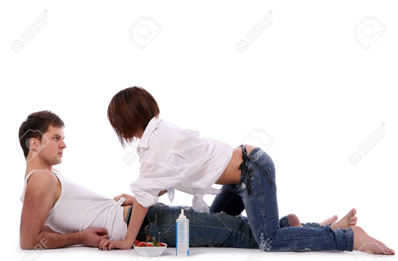 young and beautiful happy couple Stock Photo - 9280267