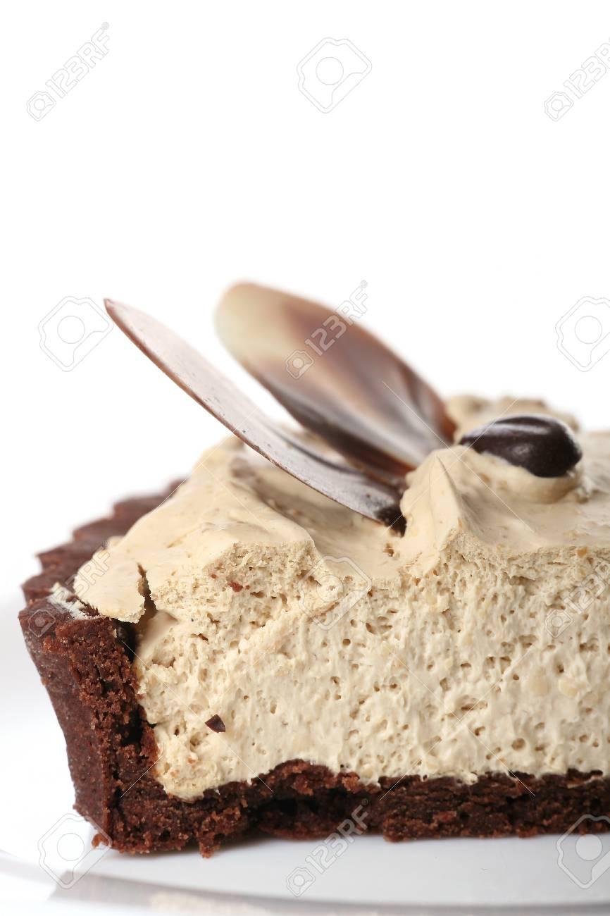 dessert fruit cake with chocolate Stock Photo - 8312711