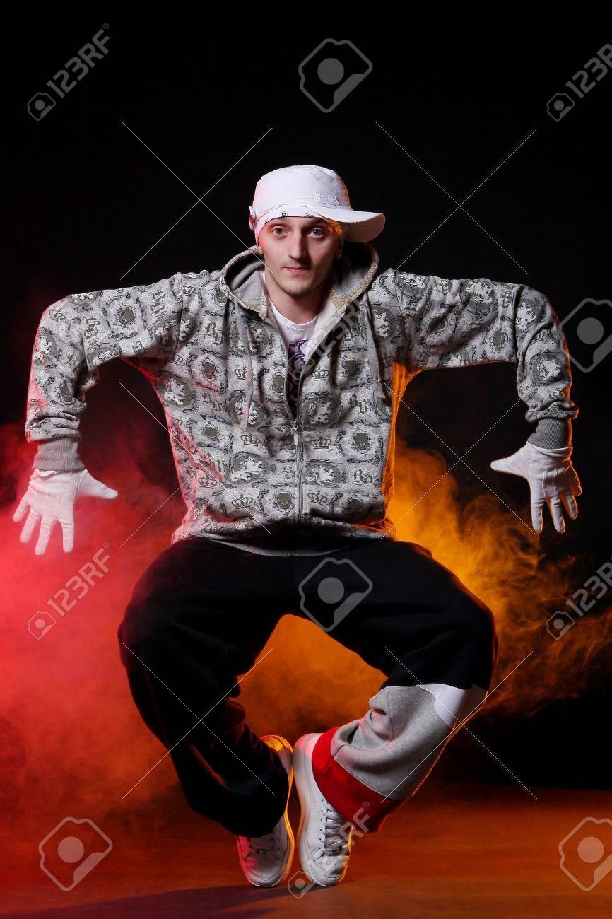 hip hop dancer in dance Stock Photo - 8733862