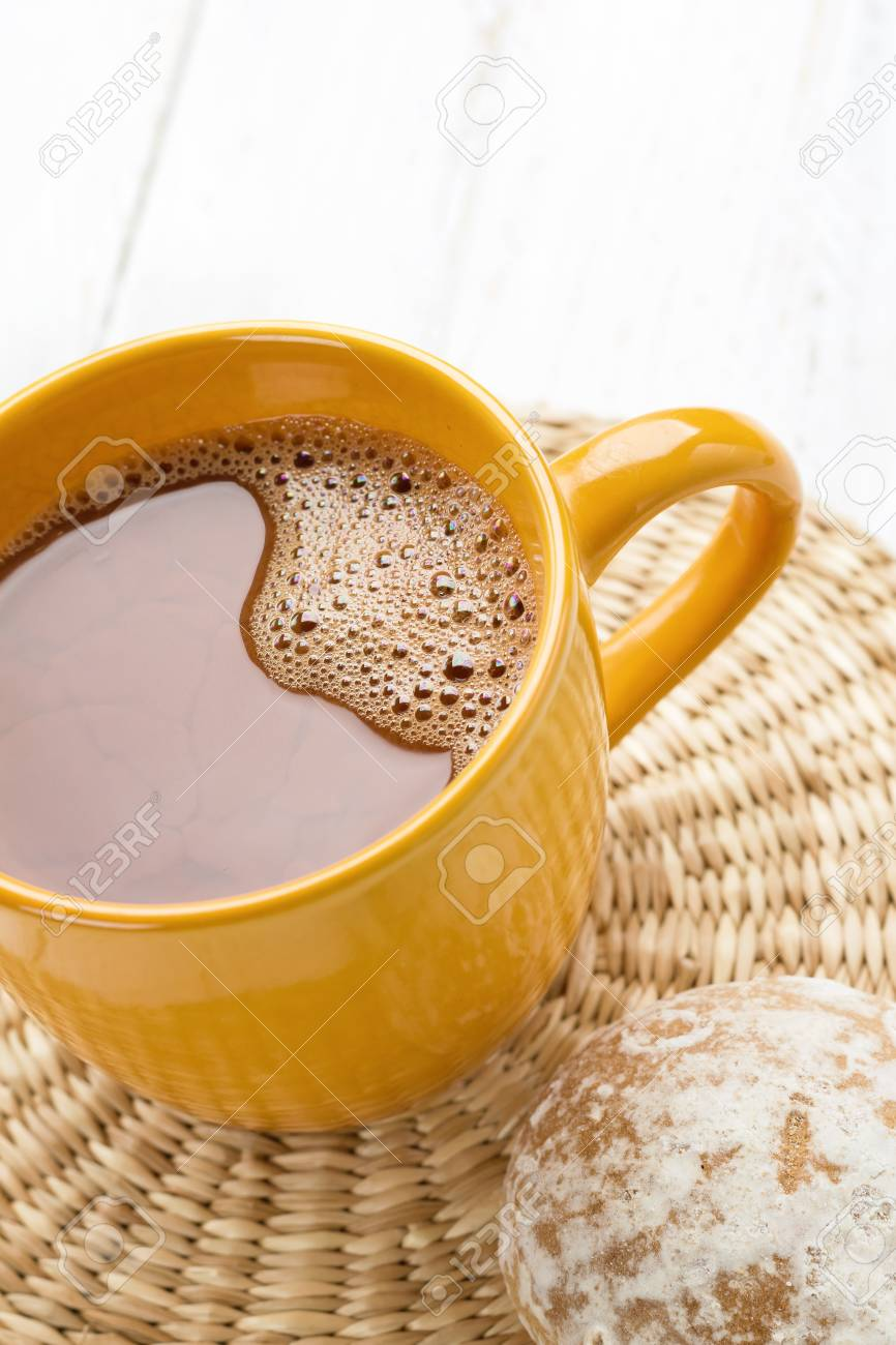 Cacao mug Stock Photo - 20127051