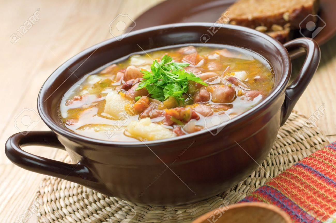 Bean soup Stock Photo - 20127125