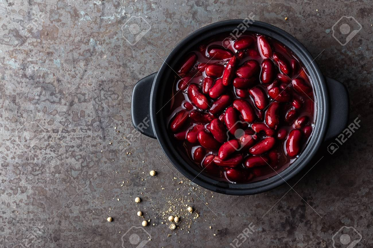 Red Kidney Beans Boiled Stock Photo Picture And Royalty Free Image Image 95280222