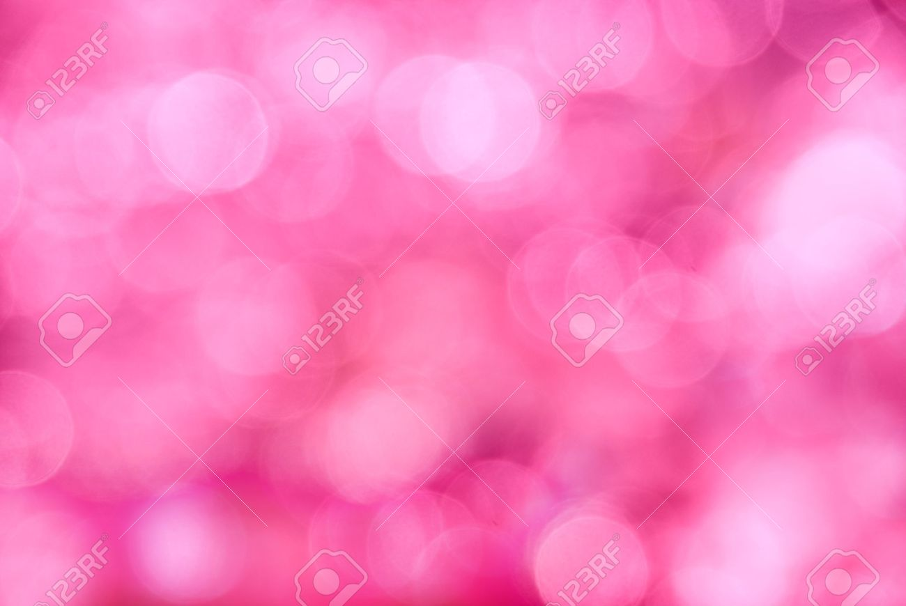 Abstract pink background in the form of bright various bokeh Stock Photo - 9720769