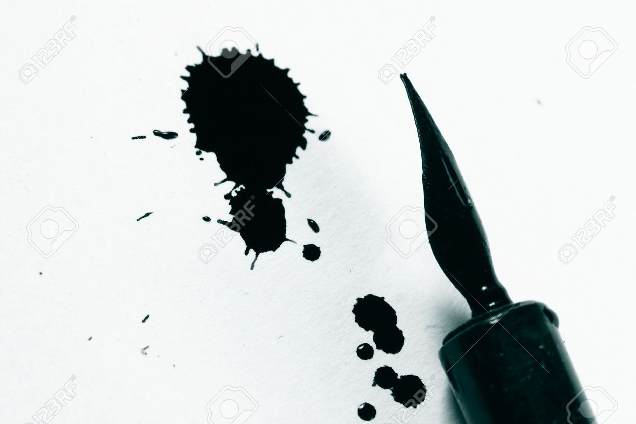 ink and pen on white paper writer stock photo picture and royalty stock photo ink and pen on white paper writer