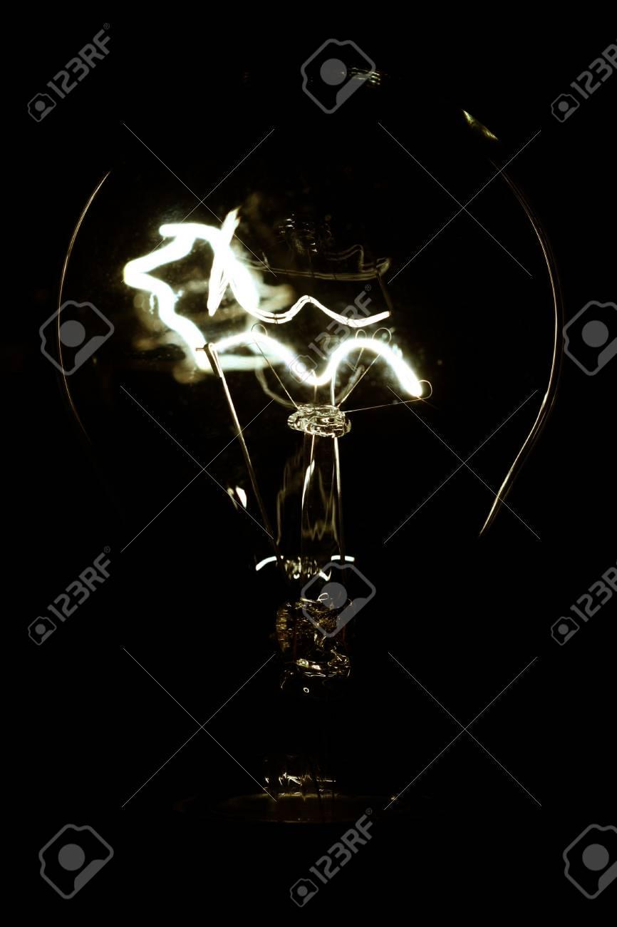 power shiny  of glowing lamp macro Stock Photo - 3427531