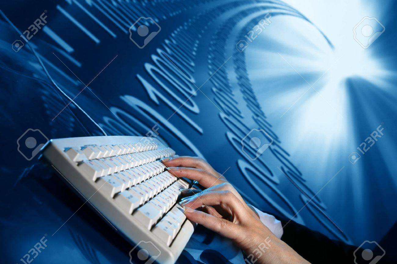 input data Stock Photo - 3983250