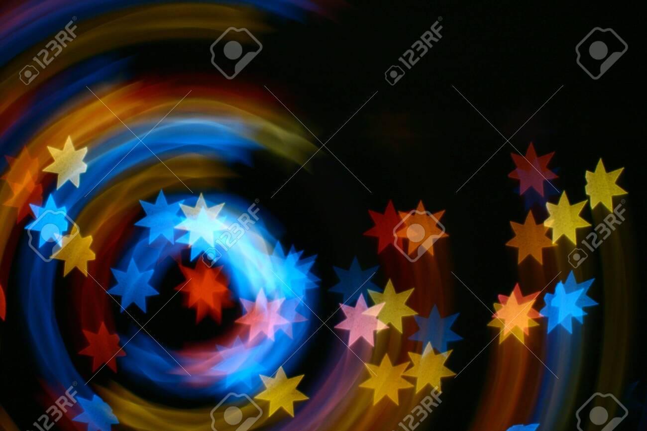 speedy motion stars abstract background Stock Photo - 5005465