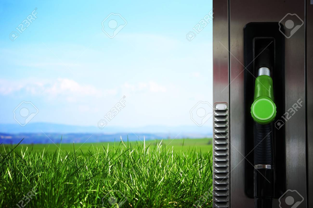 clear gas station in field Stock Photo - 8453732