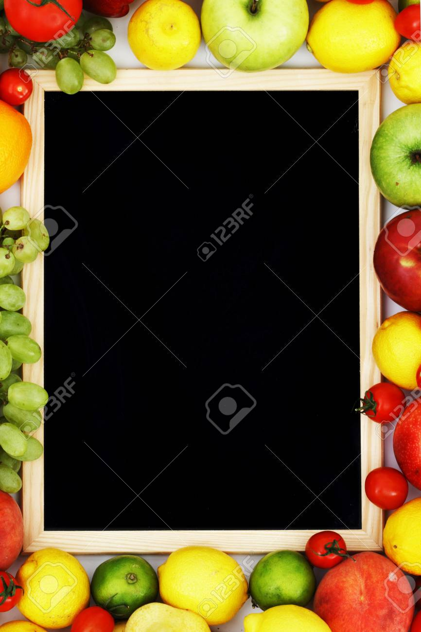 desk in big fruit pile Stock Photo - 8744056