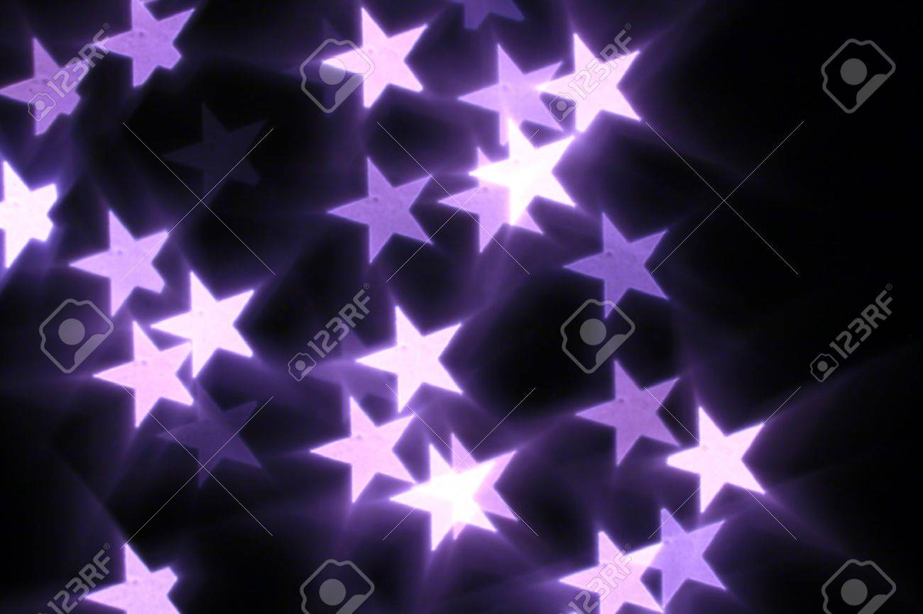 bokeh stars  background abstract macro Stock Photo - 10098866