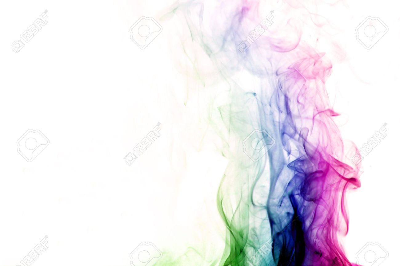 colored smoke abstract elegant background Stock Photo - 10164427
