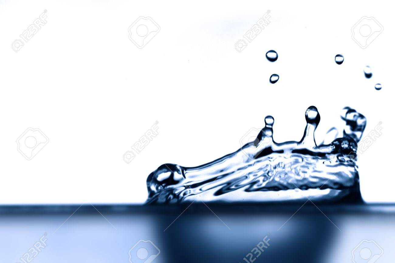 water splash close-up aqua backgrounds Stock Photo - 10363274
