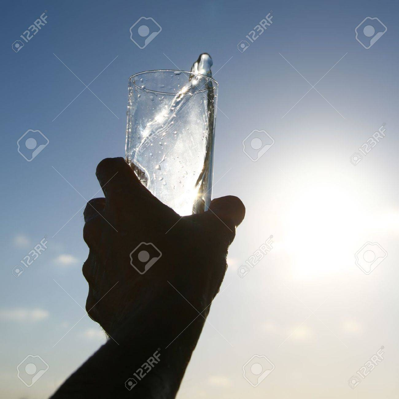 cold morning drink in glass Stock Photo - 10534772