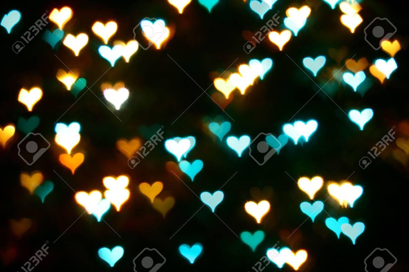 Movimiento Abstracto De Color De Fondo Del Corazón El Amor Fotos
