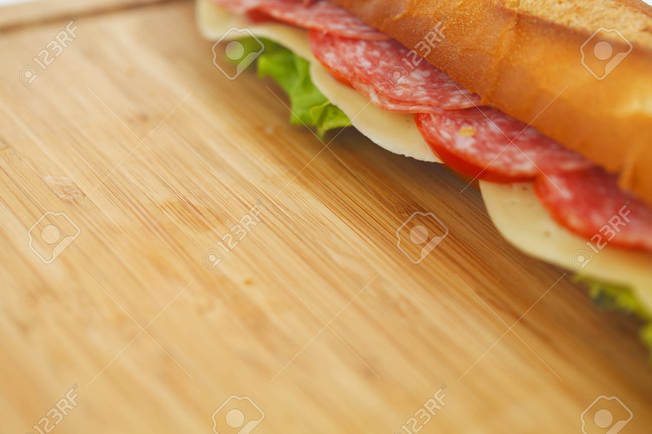 pile of sandwiches close Stock Photo - 16689861
