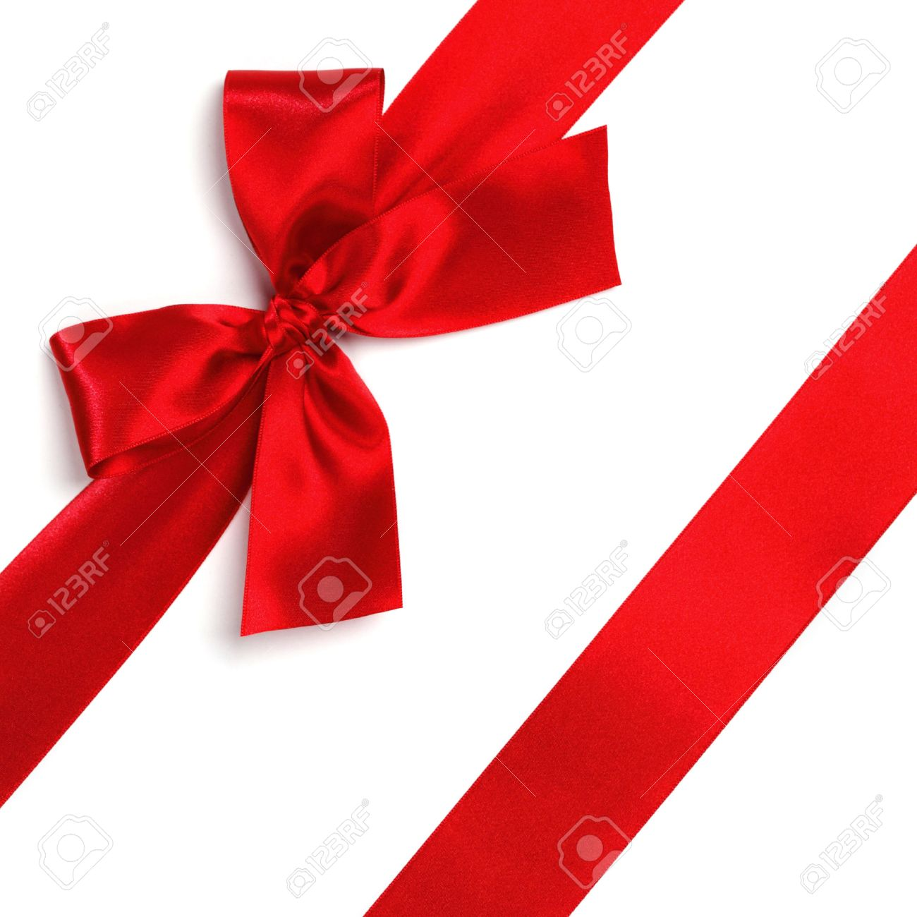 Red satin gift bow ribbon isolated on white stock photo picture red satin gift bow ribbon isolated on white stock photo 46252826 negle Image collections