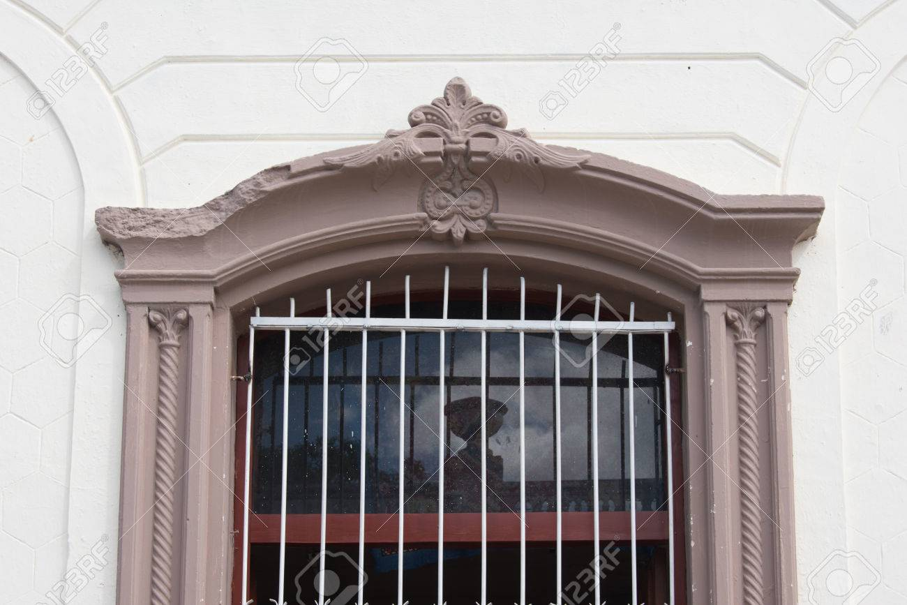 Awesome Cuban Colonial Architecture Details In Windows Of Old Houses. Iron Work In  Window Guard,