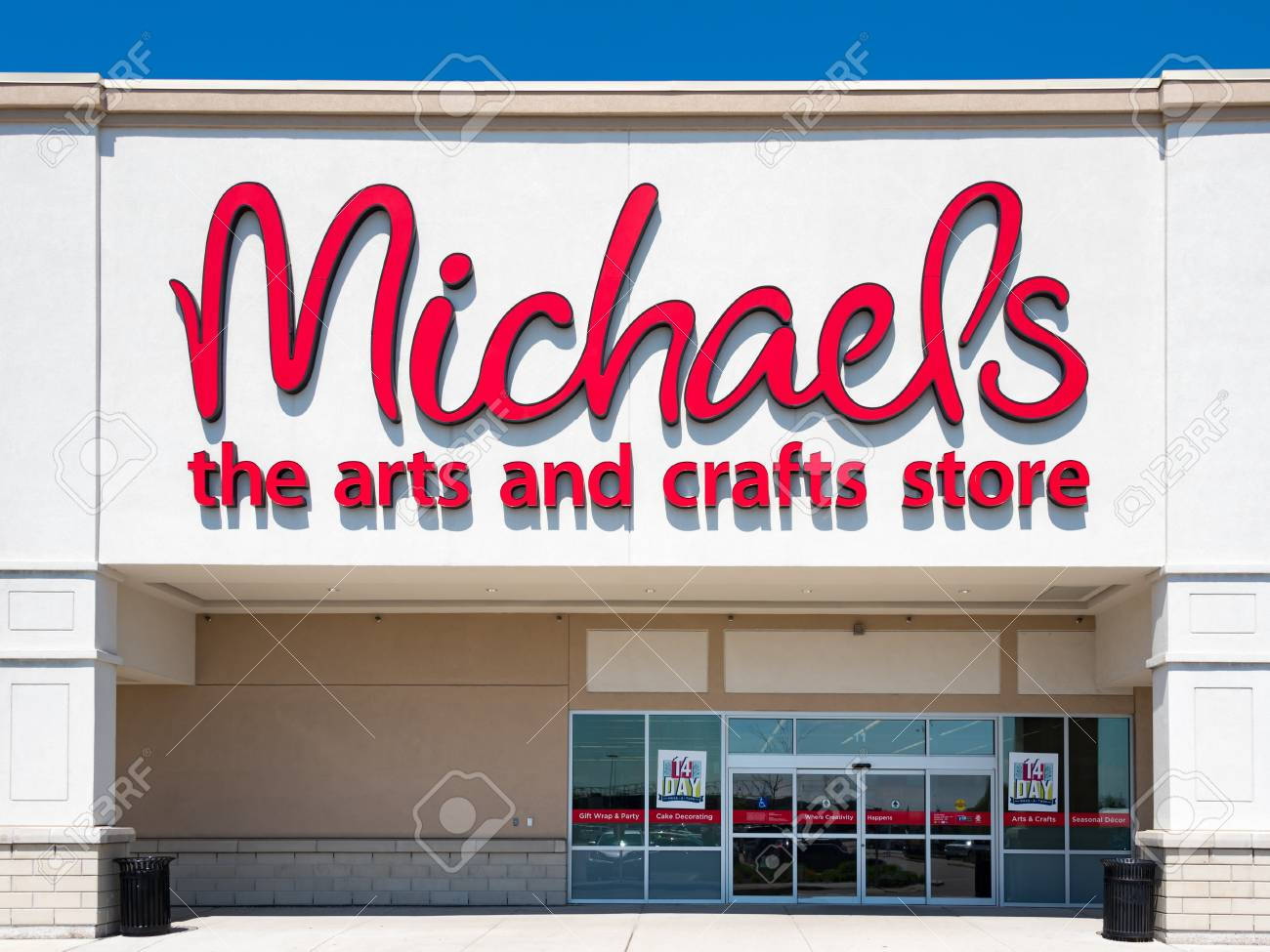 Michaels Art Store Entrance Michaels Is A North American Arts