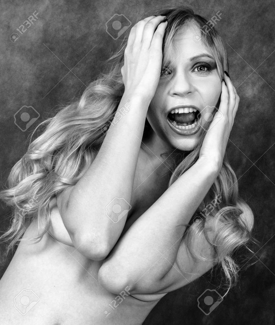 Black and white pictures of topless women photos 936