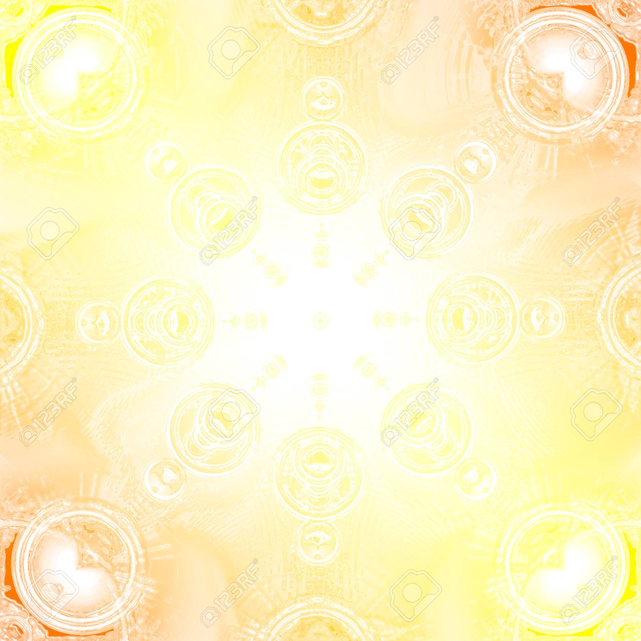 Yellow Abstract Background For Design Gradient Wallpaper