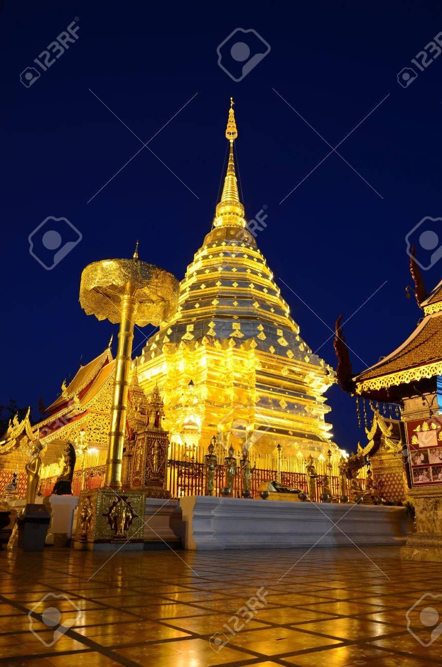 Phra That Doi Suthep, Chiang Mai, Thailand. - 8797890