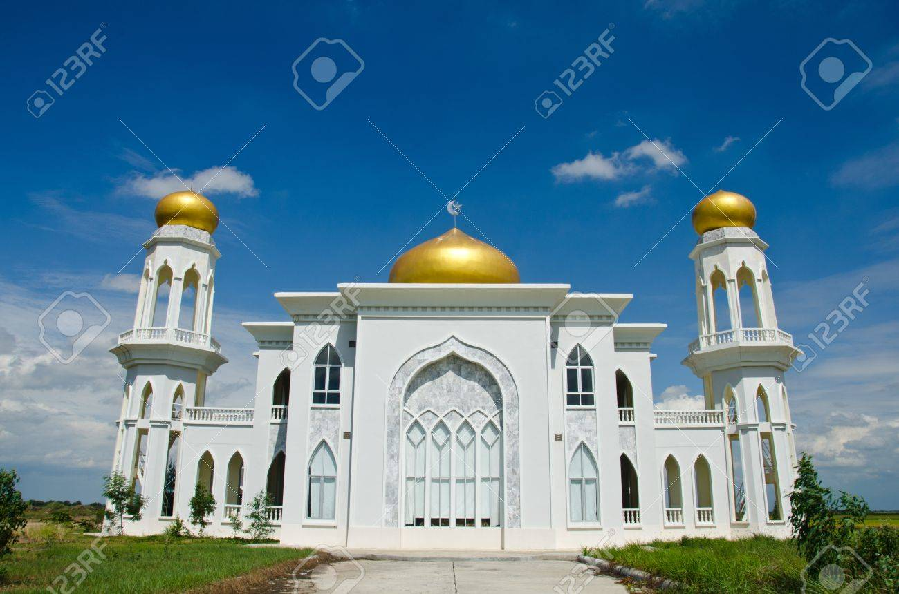 Mosque of Islam. Ayutthaya Province, Thailand. - 10269558