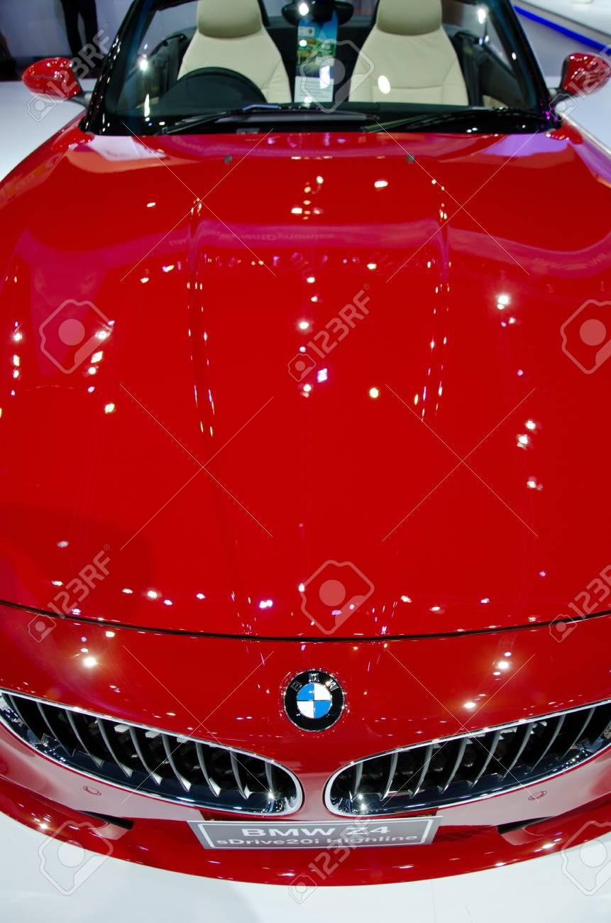 BANGKOK - DECEMBER 3: BMW at the 28th Thailand International Motor Expo on December 3, 2011 in Bangkok, Thailand. Stock Photo - 11367043
