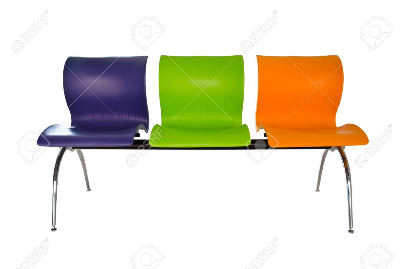 Modern colorful seats. - 12308282