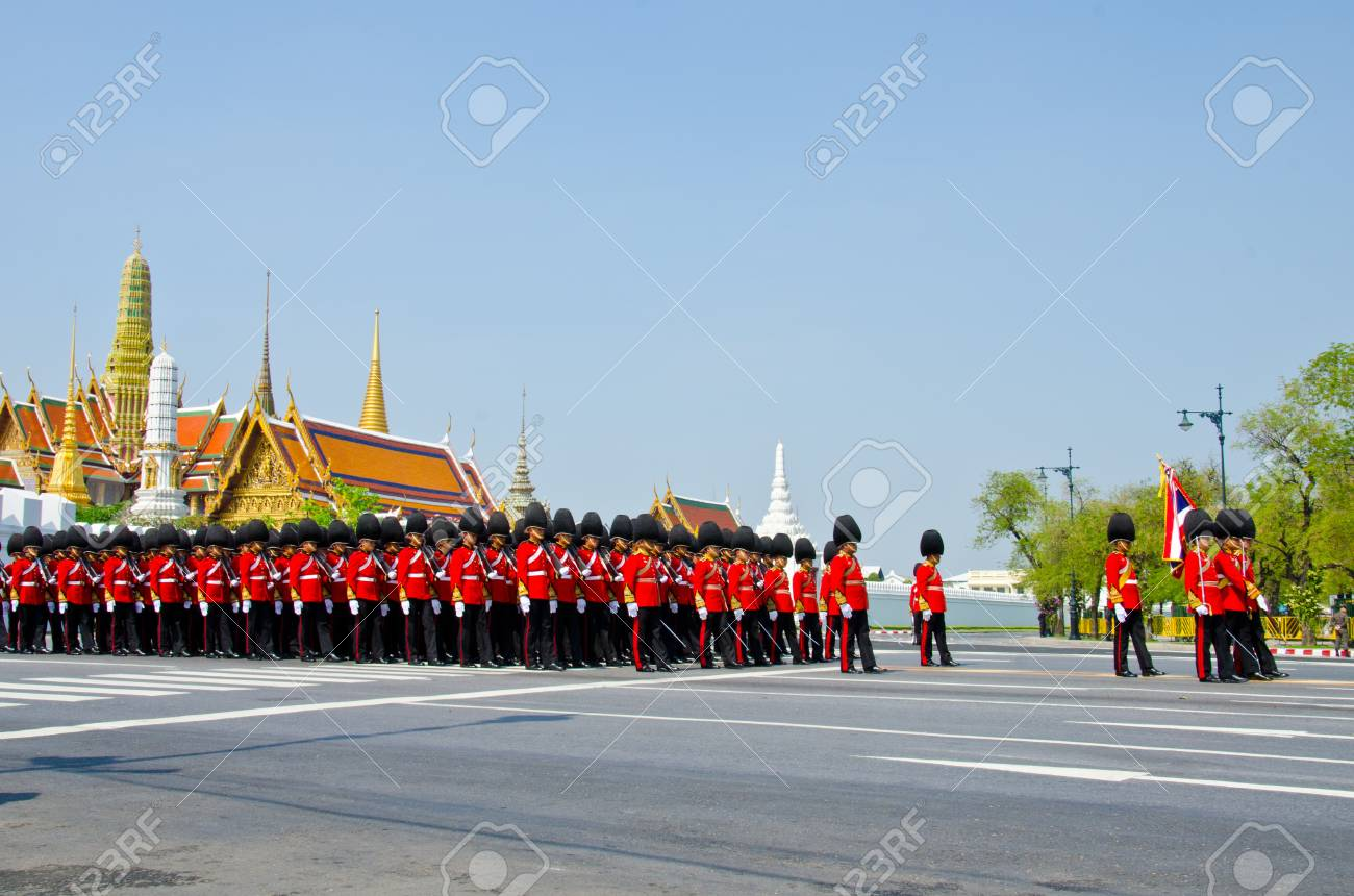 BANGKOK - APRIL 9: Royal cremation of Her Royal Highness Princess Bejaratana Rajasuda at Sanam Luang on April 9, 2012 in Bangkok, Thailand. Stock Photo - 13097039