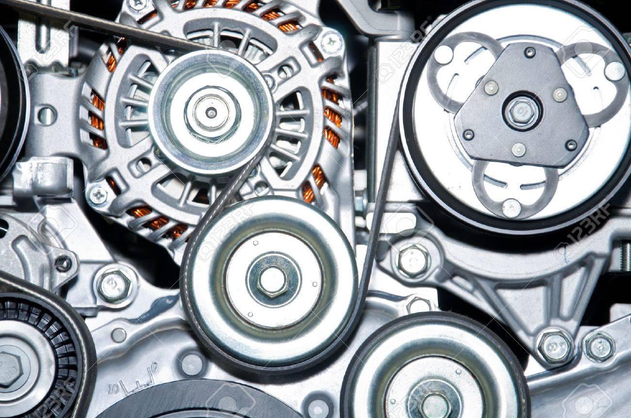 The car engine Concept of modern car engine - 16709410