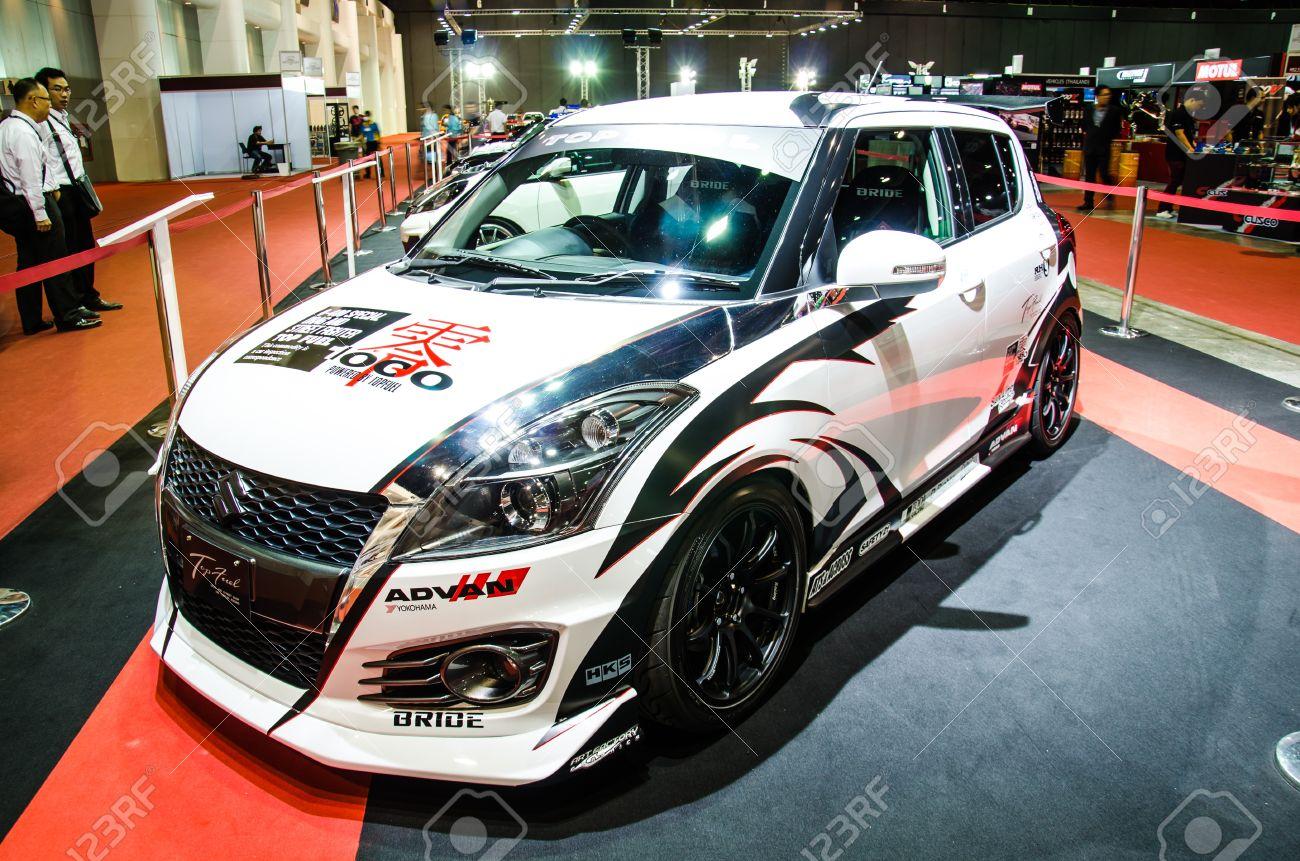 BANGKOK - JUNE 20 : Suzuki Swift Car On Display At Bangkok ...