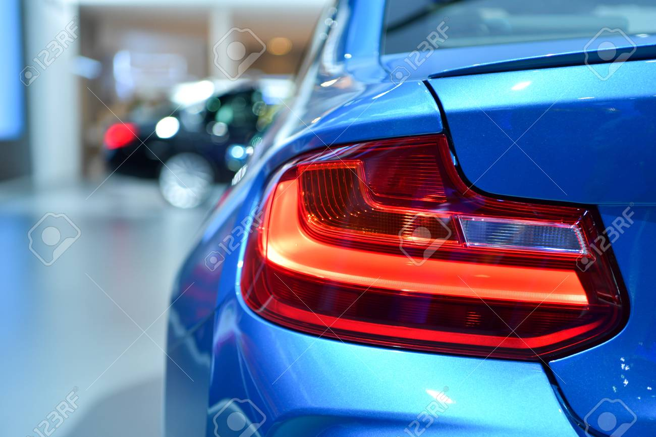Nonthaburi March 28 Tail Light Of Bmw M2 Coupe Car On Display