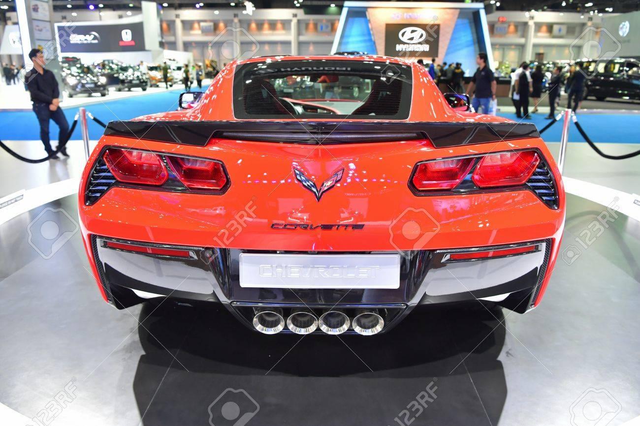 2017 Chevrolet Corvette Stingray >> Nonthaburi March 28 The 2017 Chevrolet Corvette Stingray Car